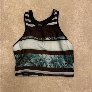Darling, sporty, modest, tankini top.